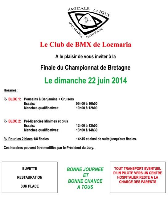 invitation locmaria finale bretagne 2014